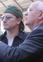 Bono Gorbachev